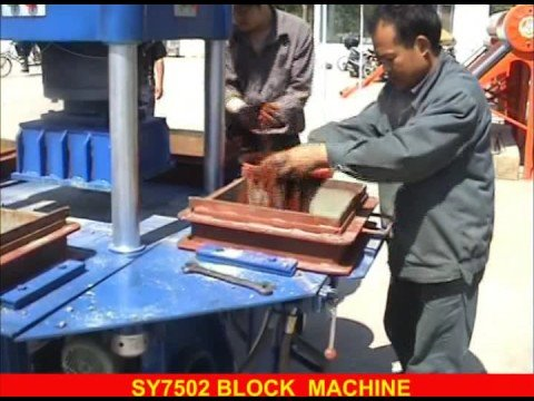 SY-750 II Pavement Block Machine