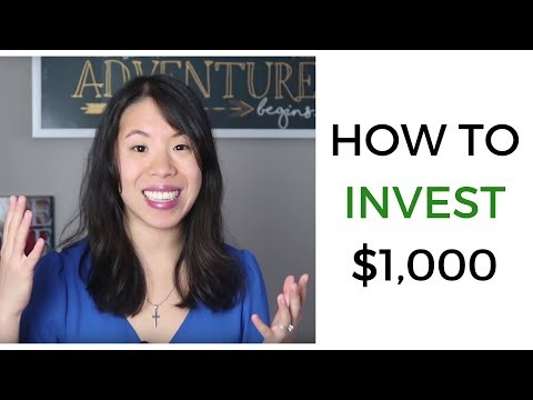 How to Invest 1000 Dollars for Beginners in 2018 - Stock Market, Side Hustle