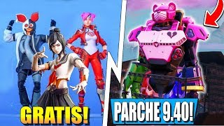 New Skins FILTERED *FREE* (some) AND Changes In Patch 9.40 Fortnite BR