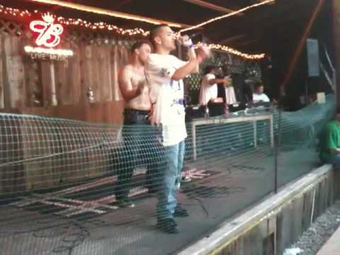 LIL G FROM RICHMOND PERFORMING AT BLUNT WORLD MUSIC FESTIVAL 2010