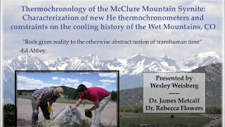 Wesley Weisberg - 2014 RESESS Colloquium