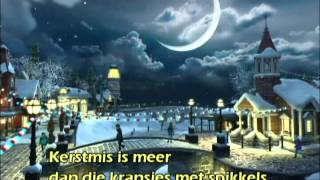 Kerstmis is meer