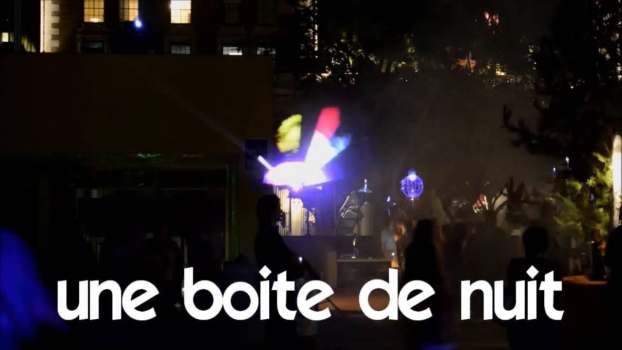 Ucam francuski 1 time lapse une boite de nuit youtube for Exterieur boite de nuit