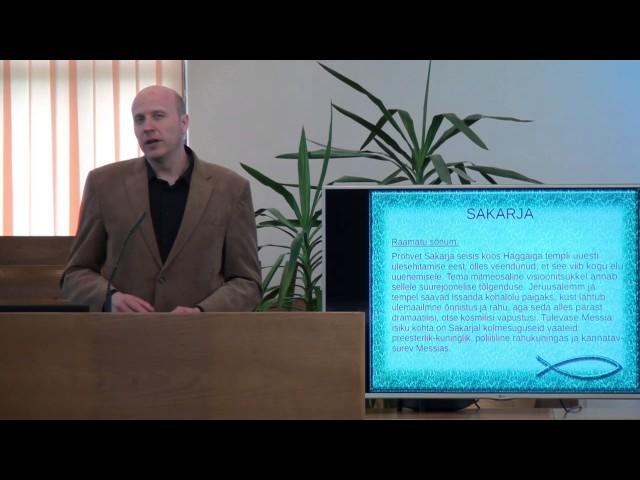 11. loeng – Sakarja raamat