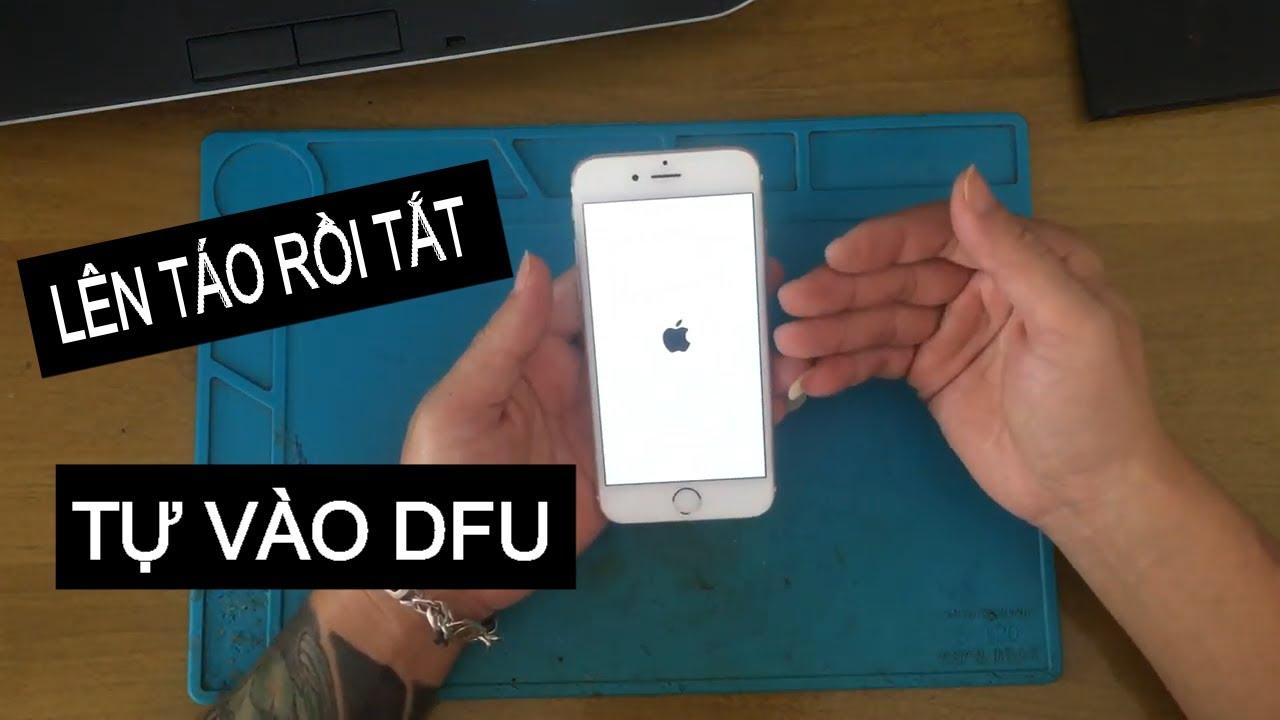 iPhone lên táo rồi tắt, Nhận máy mà không giám sửa