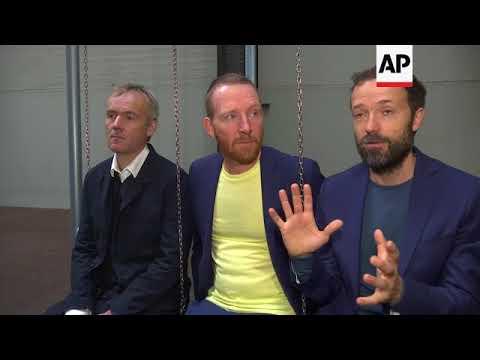 Danish art collective swings into Tate Modern