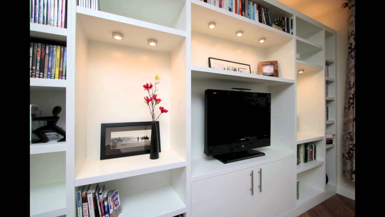 Built in TV units - YouTube