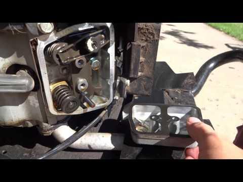 setting  valves  checking compression   kawasa doovi