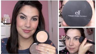 ELF Studio Pressed Mineral Foundation Review Thumbnail