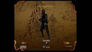 Lord of the Rings the Two Towers Speedrun Attempt 1 - 1hr 10 mins (Cutscenes)