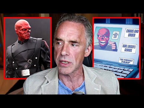Jordan Peterson Reacts To Marvel's Red Skull Comic