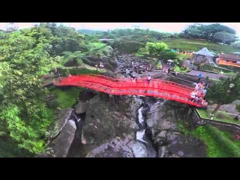 Lokasi Obyek Wisata Baturaden Purwokerto Dari Langit Youtube