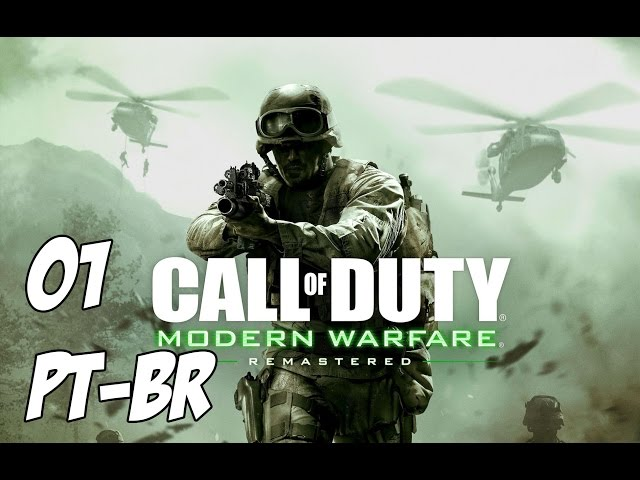 Call of Duty Modern Warfare Remastered PT-BR #01 Equipe dispensável