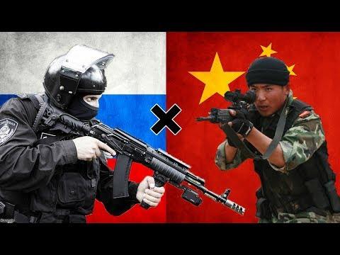 Rússia x China - Comparação Militar