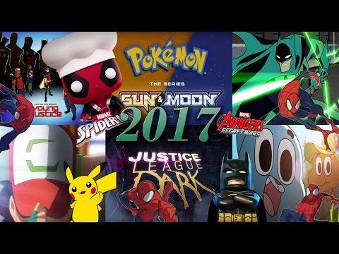 las series y películas animadas del 2017 | video series
