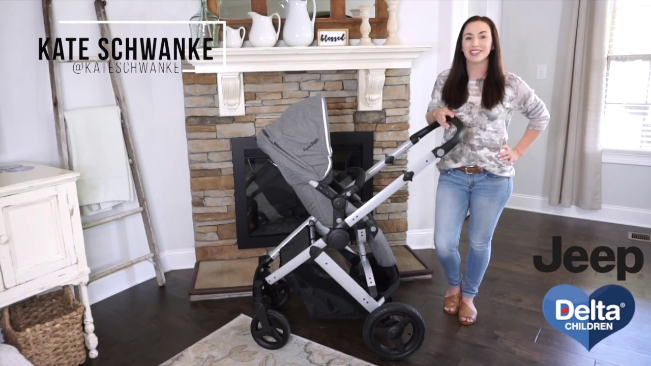 Review | Jeep Brand Sport Utility All-Terrain 3-in-1 Stroller