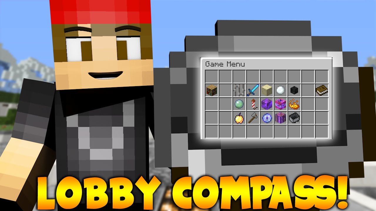 LobbyCompass Select A World To Go To Minecraft Plugin Tutorial - Minecraft spiele ohne plugin