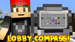LobbyCompass! (Select a World To Go To) | Minecraft Plugin Tutorial