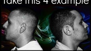 Oscar Tavio & Dj Full FX-Take this 4 Example (music video)