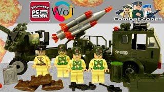 Военное Лего Конструктор Brick 812 Ракетная установка на русском языке