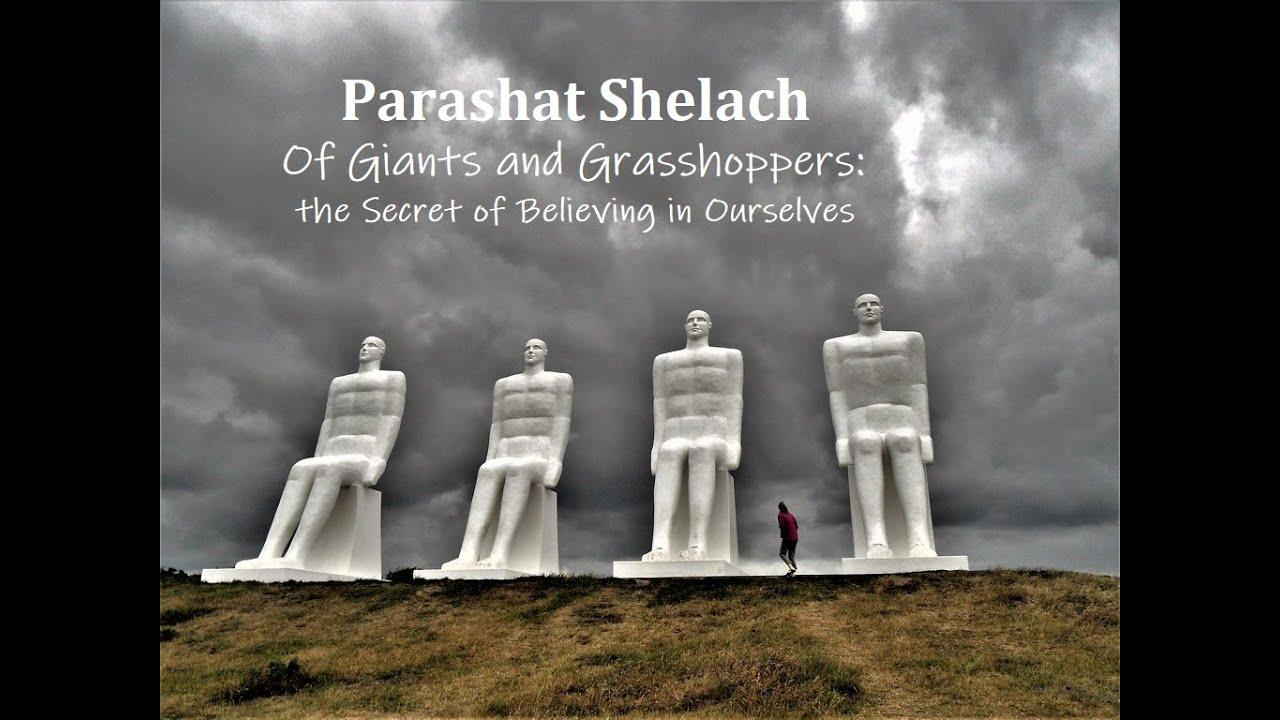 Jerusalem Lights Parashat Shelach  5780 - Giants and Grasshoppers - Secret of Believing in Ourselves