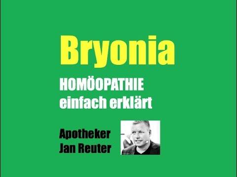 Jan Reuter das homöopathische mittel bryonia auf den punkt gebracht apotheker
