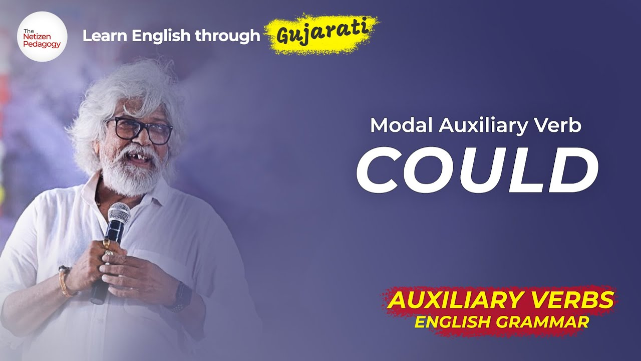 Usages of Modal Auxiliary Verb - COULD | Grammar Lessons with Dr Ashok Vyas | The Netizen Pedagogy