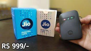 Jio JMR 541 Unboxing & Review | Best Jiofi 3 | Jio Wifi Router