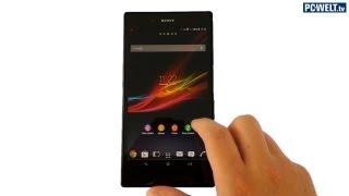 Wasserdichtes XXL-Smartphone: Sony zeigt Xperia Z Ultra