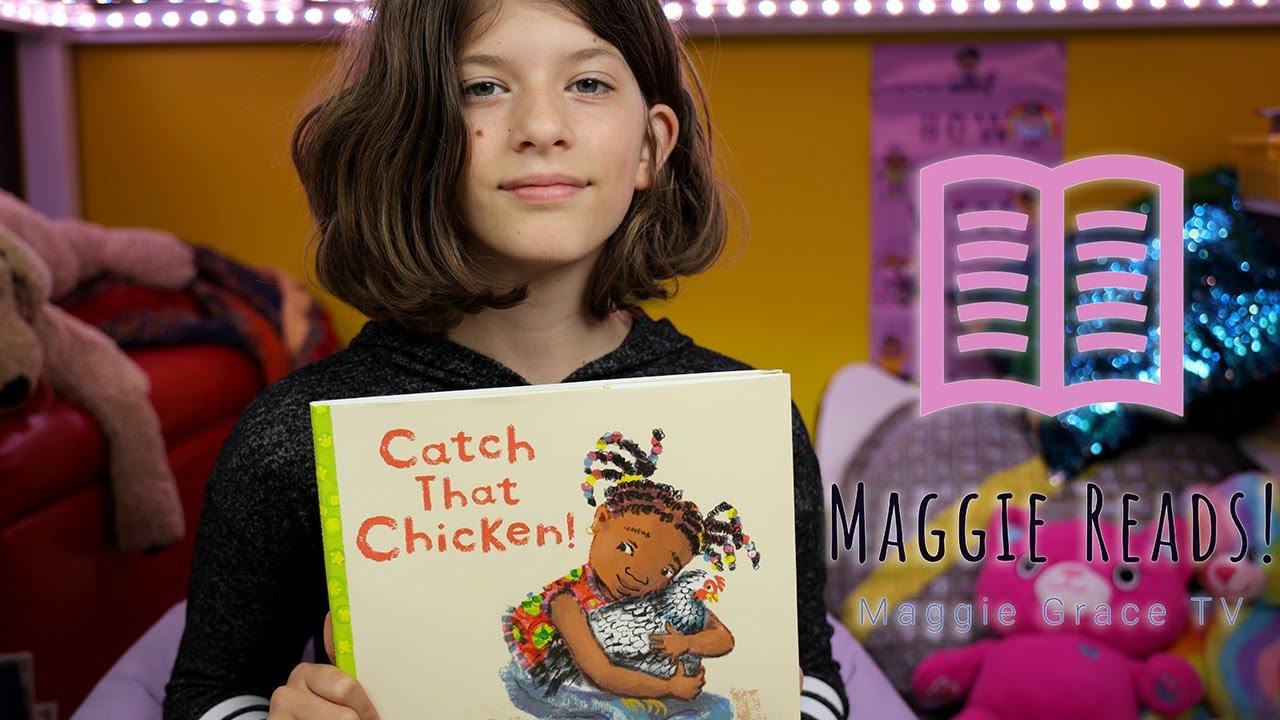 CATCH THAT CHICKEN | MAGGIE READS | Children's Books Read Aloud!