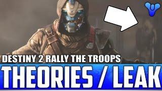Destiny 2 Trailer Secrets: Brother Vance & Xur In Trailer? / Speaker Turned Rogue / DLC Leak & More!