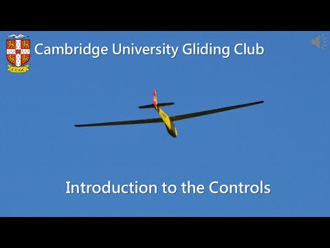 CUGC Gliding Theory: Introduction to Controls