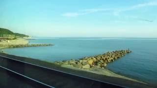 Вдоль Чёрного моря. Вид из окна вагона(Виды из окна поезда №36