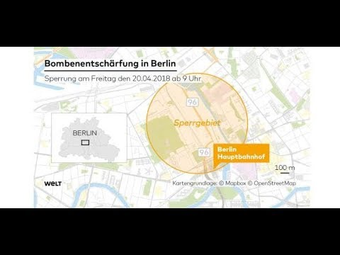 Bombenentschärfung in Berlin: 10.000 Menschen müssen ihre Wohnungen verlassen