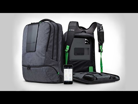 5 Waterproof, Solar Powered & Anti Theft Everyday Backpacks