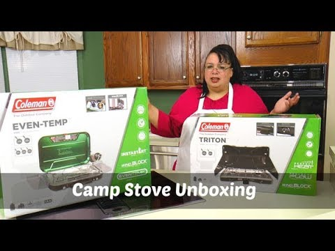 Coleman Camp Stove Unboxing | Coleman Ever Temp & Triton Stove | Camping Gear | What's Up Wednesday!
