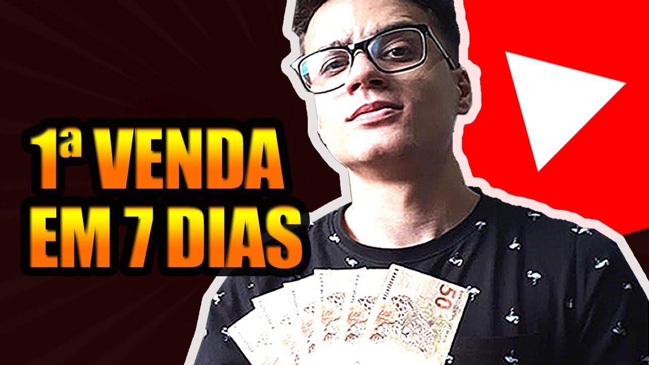 Como Ganhei R$ 285,86 em 7 Dias Com YouTube (Afiliado Hotmart)