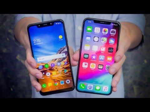 $400 Pocophone F1 vs $1100 iPhone XS Max