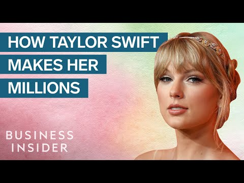 How Taylor Swift Makes And Spends Her Millions