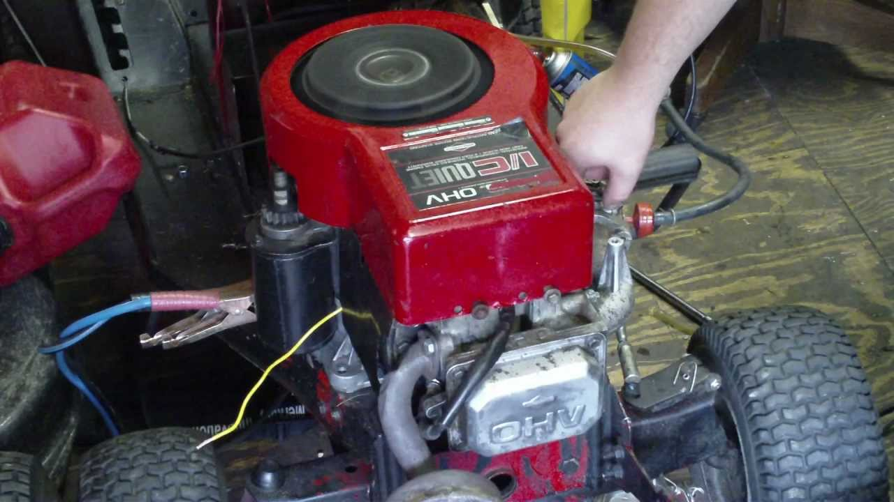Tech Tecumseh Engine Diagram Guide And Troubleshooting Of Wiring Further Engines Carburetor Linkage On Briggs 14 5 Ohv Running Again After New Camshaft Oi Doovi Go Kart Model Tvm195150265e