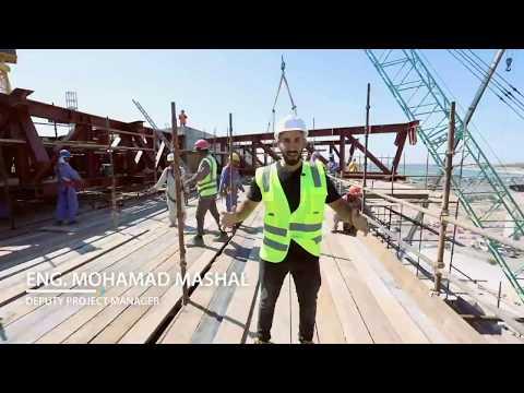 Engineer Mohamad Mashal introduces Al Qana Project in Abu Dhabi