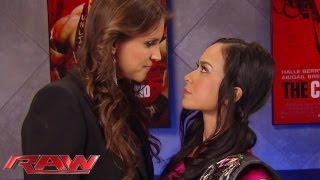 Stephanie McMahon orders Divas Champion AJ Lee to compete: Raw, Sept. 23, 2013
