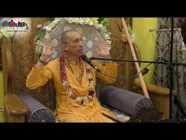 Лекция по Бхагаватам Е.М. Бхакти Ратнакар Амбариша свами на фестивале санкиртаны в Казани