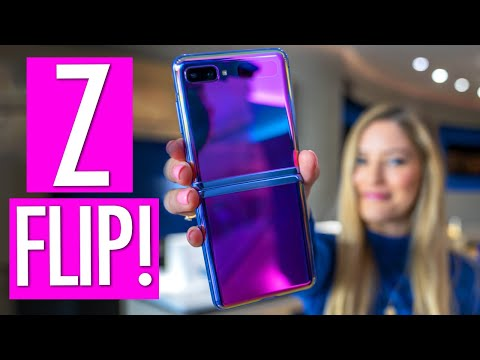 The Hunt For A Galaxy Z Flip.... Unboxing And First Impressions!