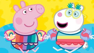 Peppa Pig English Episodes  Peppa Pig's Fun Time At The Space Museum | Peppa Pig Official | 4K