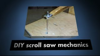 Diy Scroll Saw Mechanics
