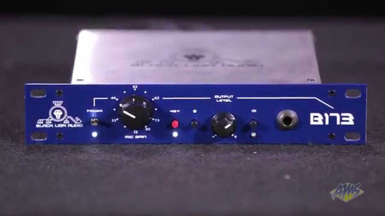 Black Lion Audio B173 Microphone Preamp Preamplifier Based Tlc251