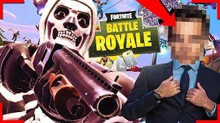 FORTNITE LESSEN VAN EEN ZAKENMAN... ?! | Fortnite Battle Royale Season 6