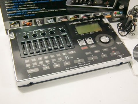 P72874 - BOSS BR-800 8 TRACK DIGITAL USB RECORDING STUDIO & POWER SUPPLY. IN BOX+MANUAL