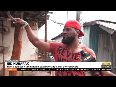 How a typical Muslims home celebrates holy day after prayers - Adom TV News (20-7-21)